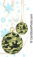 Army baubles