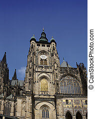 Prague. Saint Vitus cathedral
