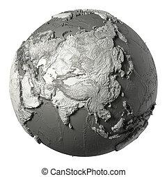 3D Globe Asia