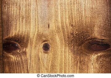 fir wood texture with knots