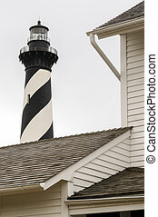 Over the House Cape Hatteras - Cape Hatteras top view over a...