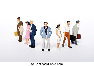 miniature people
