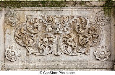 medieval bas-relief