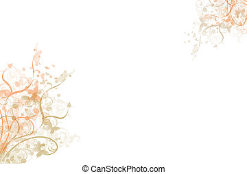 Beautiful abstract floral background - Beautiful and modern...