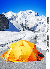 The tent of Everest Base Camp
