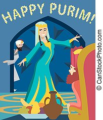 happy purim, The Feast of Esther
