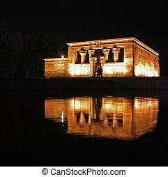 Templo de Debod, Madrid - Templo de Debod, Egyptian Temple...