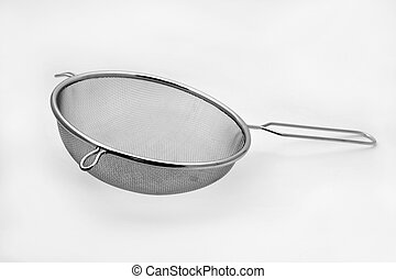 stainless steel mesh strainer - an stainless steel mesh...