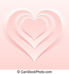 Soft and Light Pink Color Valentine Day Backdrop