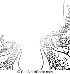 Music Background vector image for your design