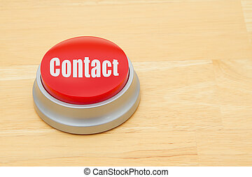 A Contact red push button