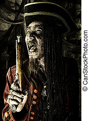 fantasy and adventure - Pirate a drowned man, Hellraiser....