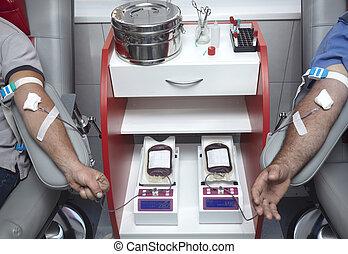 Laboratorio, sangre, prueba, extracción, Medicina,...