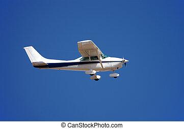 pequeno, avião