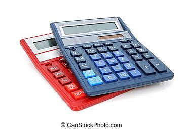 Two Calculators - Calculators with an autonomous power...
