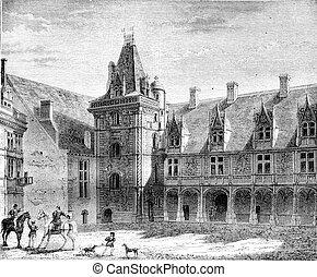 Renaissance, Chateau de Blois, Partly built under Louis XII,...