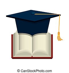 text book education icon vector illustration design