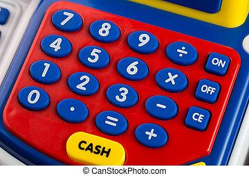 Numeric keypad detail