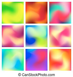 Abstract Blur Color Gradient Background - Abstract blur...