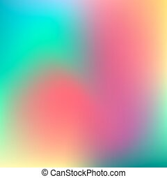 Abstract Blur Color Background - Abstract pink, teal, purple...