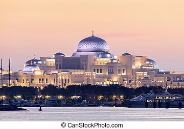 Presidential Palace in Abu Dhabi - New Presidential Palace...