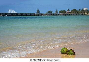 Girón Beach, Cuba - Giron beach, near Cienfuegos, Trinidad,...