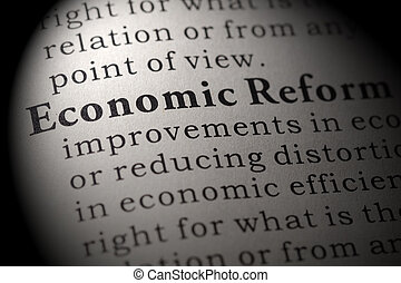 definition of economic reform - Fake Dictionary, Dictionary...