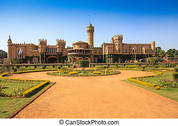 Bangalore palace built as smaller version Windsor castle,...