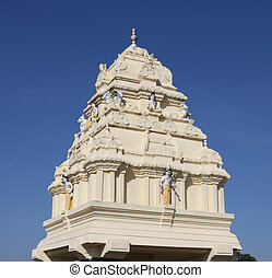 Kempe Gowda tower, Bangalore - Kempe Gowda tower in Lal bagh...