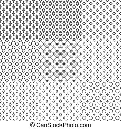 Simple Geometric Seamless Pattern Background Vector