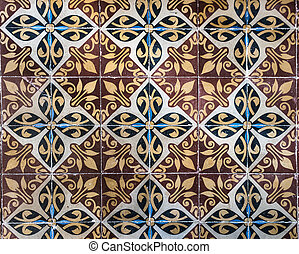 Mexican tile background