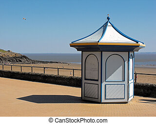 Beach Hut at Barry Island, South Wales