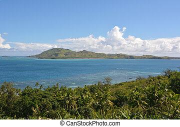 Yasawa, Isole, aereo, paesaggio, uno