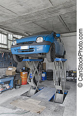 Auto ready to be repaired