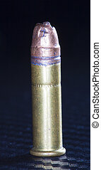 Bullet problem - Mangled bullet on top of a rimfire...