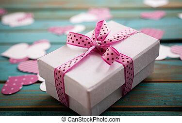 valentine´s, jour, cadeau