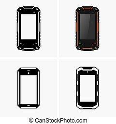 保護される,  smartphones