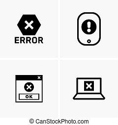 Error symbols