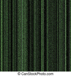 Matrix future technology - digital binary code background -...