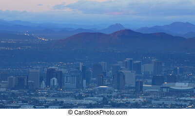 Day to night timelapse of Phoenix - A Day to night timelapse...