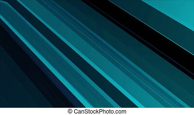 Abstract transparent stripes. Technology background. 3D...