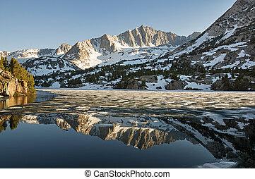 Montaña, reflexión
