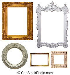 Set of picture frames (High. Res.)