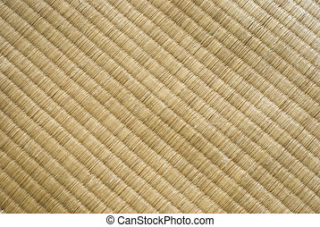 tatami texture. Traditional Japanese culture. It made up by...