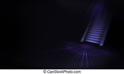 Stairway to a bright world, Light and Dark,