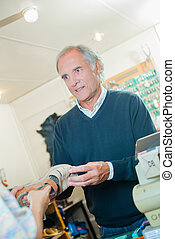 cobbler recieving shoes