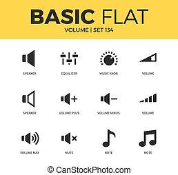 Basic set of icons