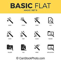 Basic set of Magic icons