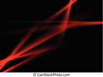 Dark red contrast abstract luminous stripes