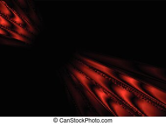 Red black stripes abstract vector motion background